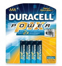 Duracellbatteries